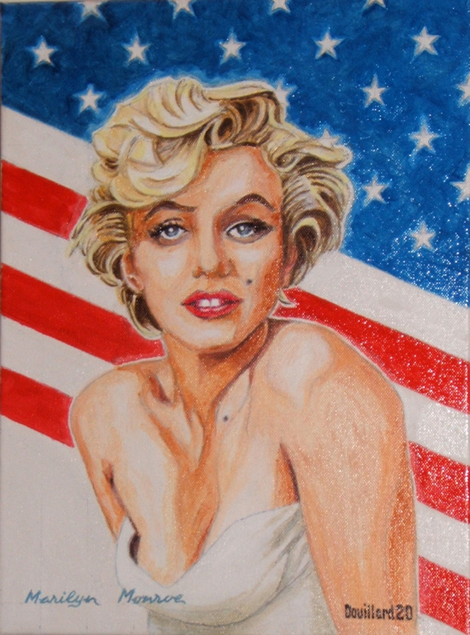 Marilyn Monroe por Douillard
